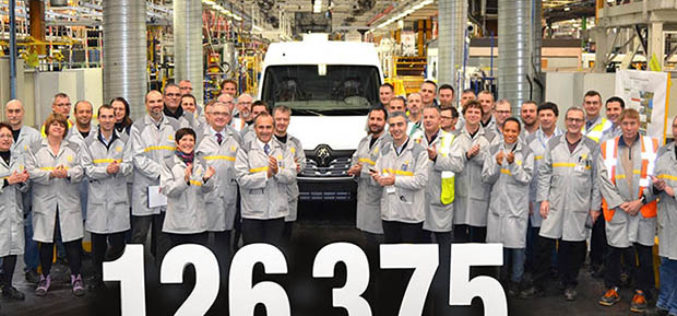 Renaultov proizvodni rekord