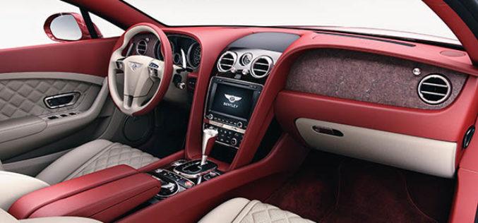 Bentley oblaže kamenom putničku kabinu