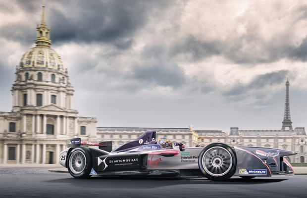 DS Virgin Racing Formula E -Paris ePrix2016