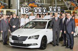 Škoda proizvela 18.000.000 automobila