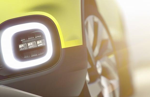 Volkswagen T-Cross koncept teaser 0