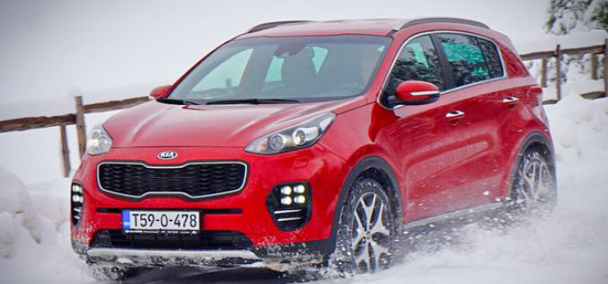 Novi Kia Sportage pobjednik Auto Bildovog uporednog testa