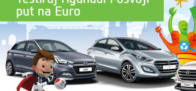 Testiraj Hyundai i Osvoji put na Euro!