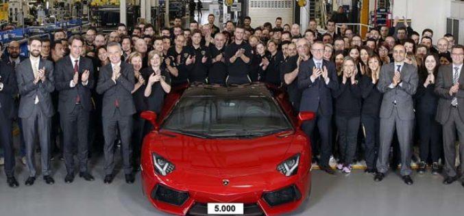 Lamborghini proizveo 5.000 Aventadora u samo 55 mjeseci