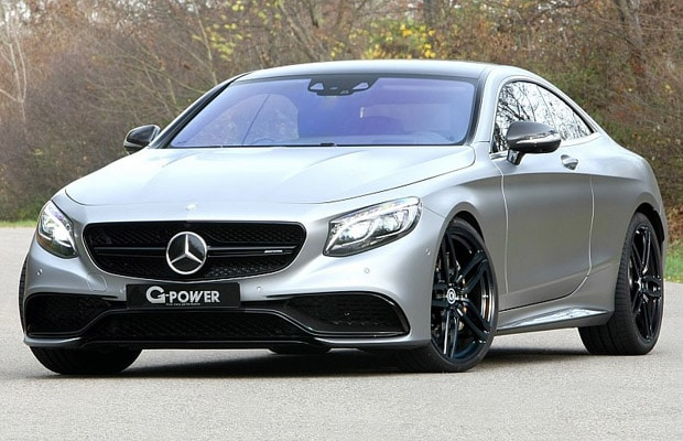 mercedes amg-s63 coupe - g-power 01