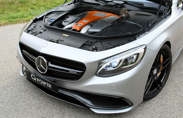 mercedes amg-s63 coupe - g-power 03