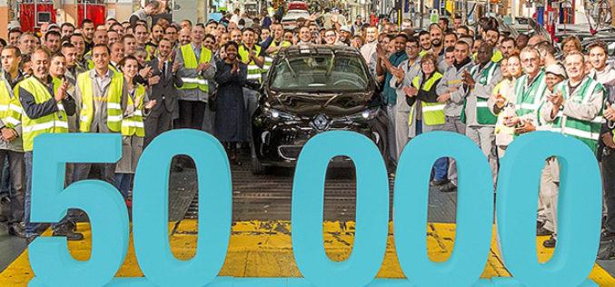 Renault proizveo 50.000-ti električni ZOE model