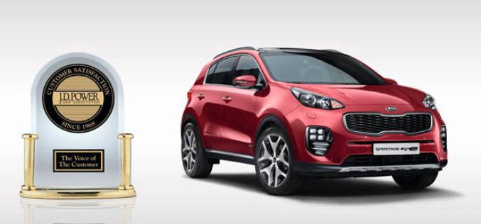 KIA Motors dobila nagradu od J.D. Powera