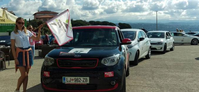 Električni Kia Soul EV pobjednik Nikola Tesla EV Rally Croatia 2016.