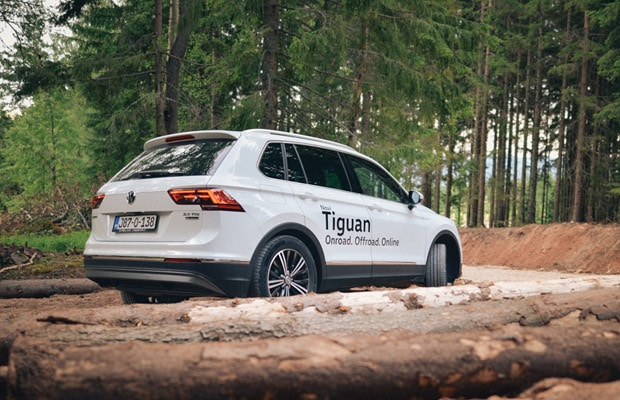 Test Volkswagen Tiguan 2.0 TDI Highline -620- 15