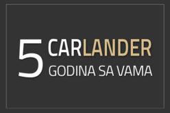 CARLANDER: Pet godina sa vama