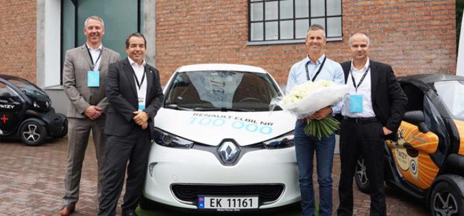 Renault isporučio 100.000-to električno vozilo