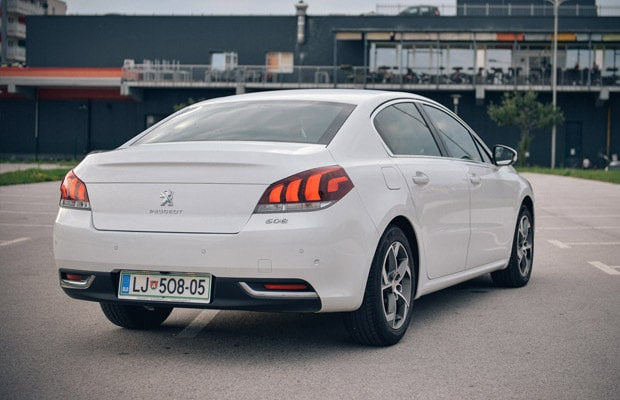 Test Peugeot 508 2.0 bluehadi Allure facelift - 620 - 04