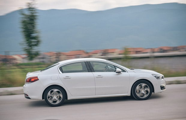 Test Peugeot 508 2.0 bluehadi Allure facelift - 620 - 40