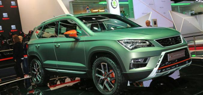 Sajam automobila u Parizu 2016: Ateca X-Perience nova uzdanica Seata