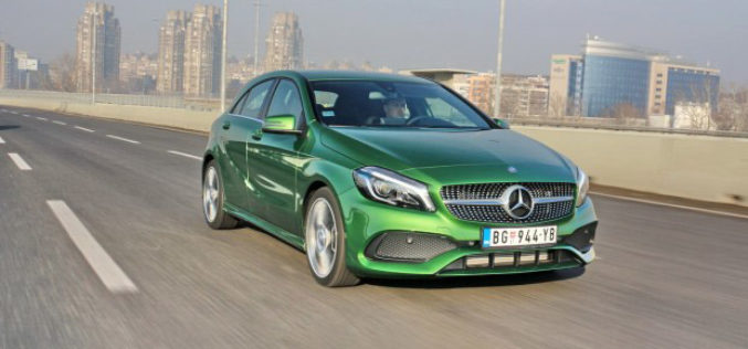 Test: Mercedes A180 AMG pack – Zeleno, volim te brzo