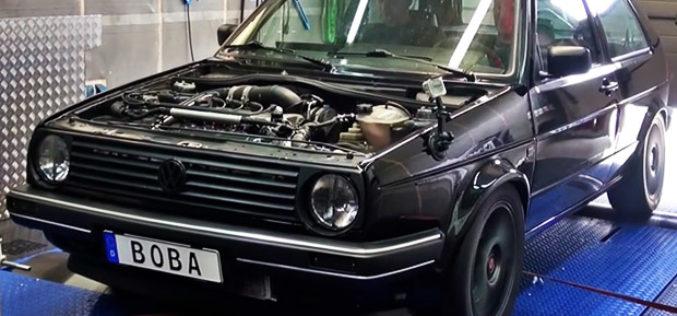 Brutalni Volkswagen Golf II sa 1233 KS prelazi četvrt milje za 8 sekundi!