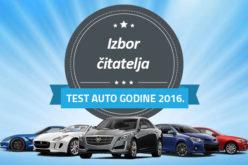 Izbor test automobila godine 2016.