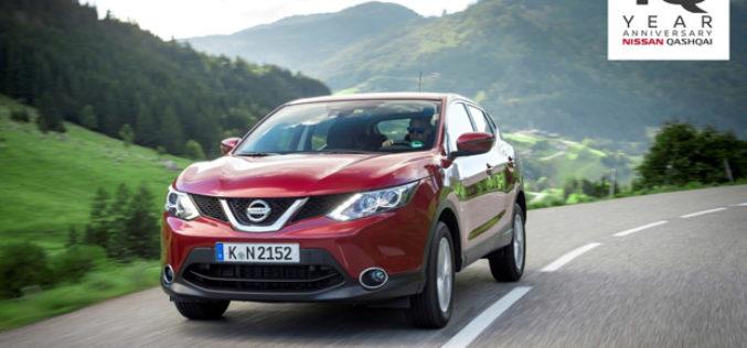 Nissan Qashqai slavi 10 godina revolucije crossovera