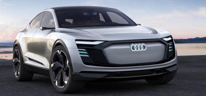 Predstavljen Audi E-Tron Sportback Concept