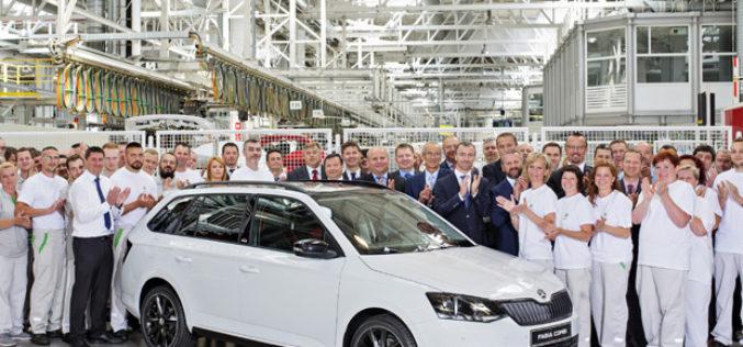 Škoda napravila 4 miliona Fabia, a 500.000 generacije 3
