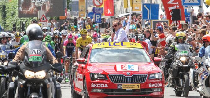 Škoda 14. put sponzor Tour de France utrke