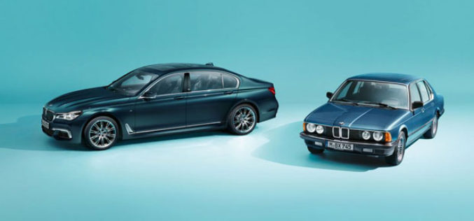 BMW proslavlja 40 godina serije 7 sa posebnom edicijom