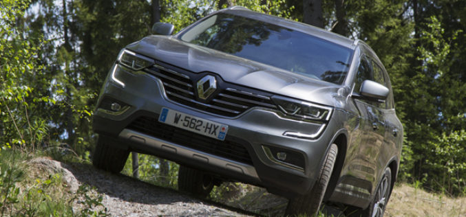 Renault KOLEOS osvojio pet zvjezdica za sigurnost na EuroNCAP testu