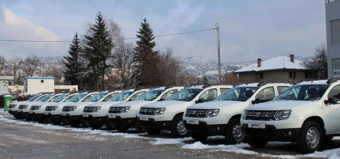 GUMA M isporučila BH Telecomuflotu od 20 vozila Dacia Duster