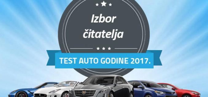 Izbor test automobila godine 2017.