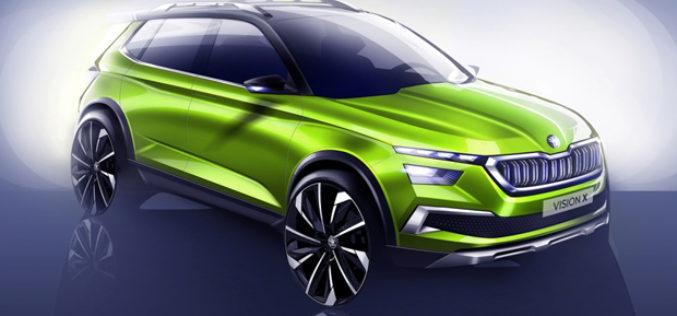Škoda Vision X Concept novi igrač u klasi gradskih crossovera