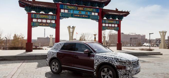 Novi VW Touareg prevalio više od 16.000 km do svoje svjetske premijere