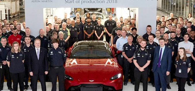 Počela proizvodnja Aston Martina Vantage modela