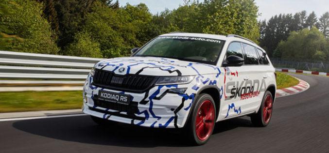 ŠKODA KODIAQ RS postavio novi rekord na Nürburgringu