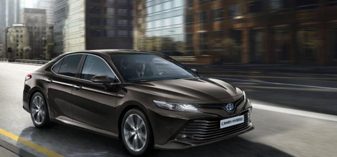 Toyota Camry vraća se na evropsko tržište