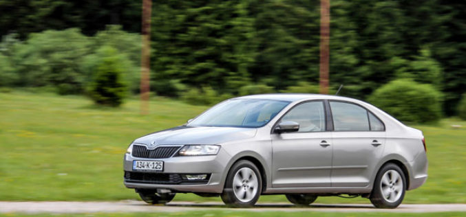 Test: ŠKODA RAPID Ambition 1.6 MPI + LPG – Zelena alternativa