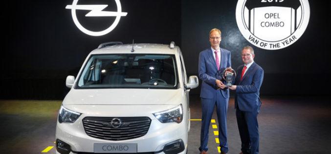Novi Opel Combo proglašen međunarodnim kombijem godine za 2019.
