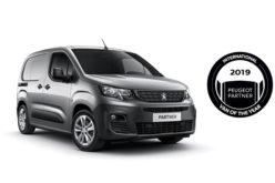 Novi PEUGEOT PARTNER: International Van Of The Year 2019.