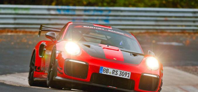 Porsche 911 GT2RS Manthey Racing novi kralj Nürburgringa!