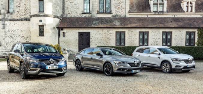 Renault luksuzni modeli obogaćenizelenijim motorima