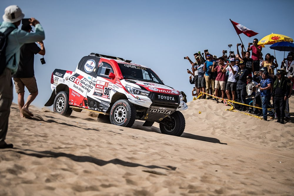 Toyota, Dakar reli 2019.