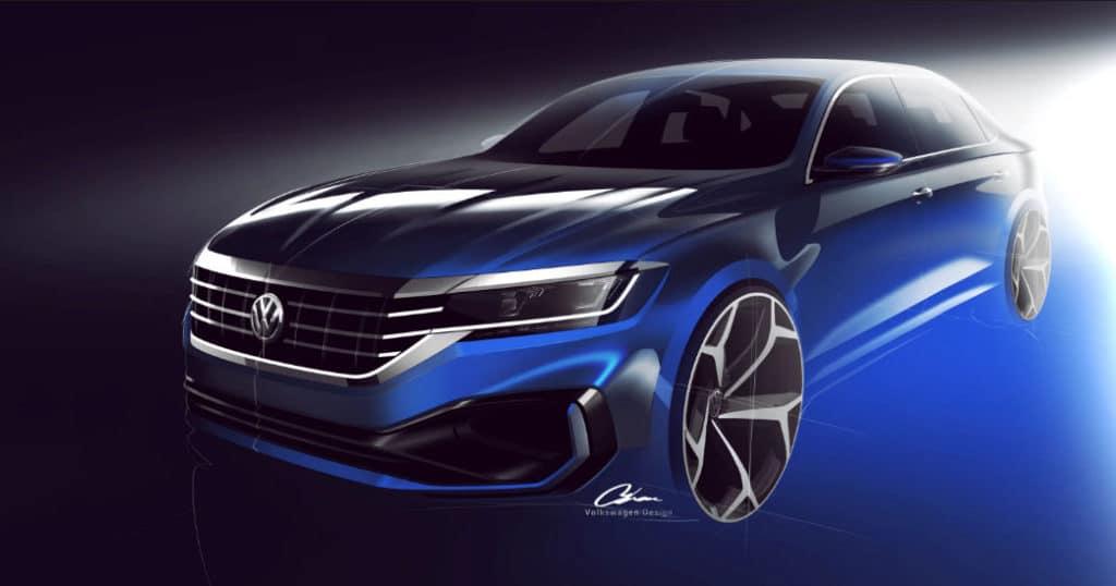 Volkswagen Passat facelift 2019.