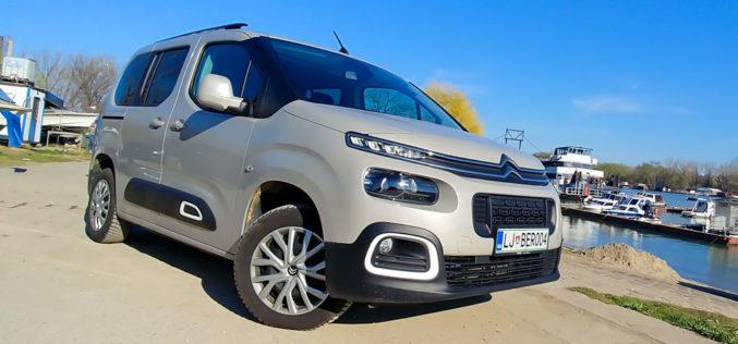 Test: Citroën Berlingo Feel M 1.5L BlueHDi 100 BVM5 – Multipraktik sa više stila