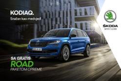 Gratis paket KODIAQ Road za najzahtjevnije kupce u BiH
