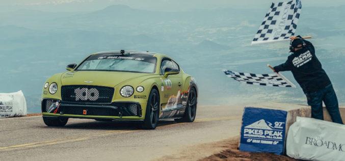 Bentley Continental GT postao je kralj serijskih automobila na Pikes Peaku