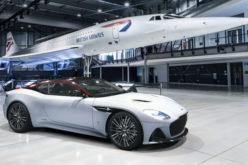 Aston Martin DBS Superleggera slavi legendarni Concorde