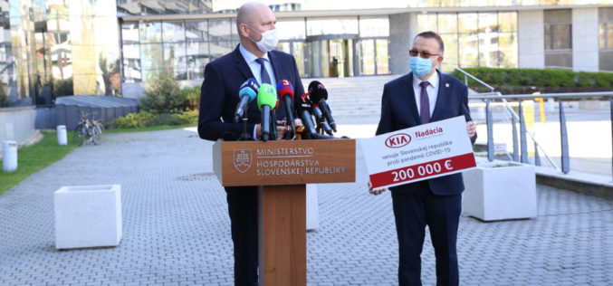 Kia Motors za borbu protiv COVID-19 Slovačkoj donirala više od 375.000 eura