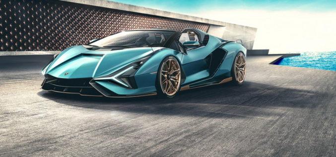 Lamborghini Sian Roadster raspolaže sa nevjerovatnom snagom