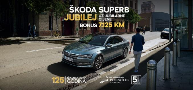 SUPERB jubilej ponuda za jubilarnih 125. godina ŠKODA AUTO-a