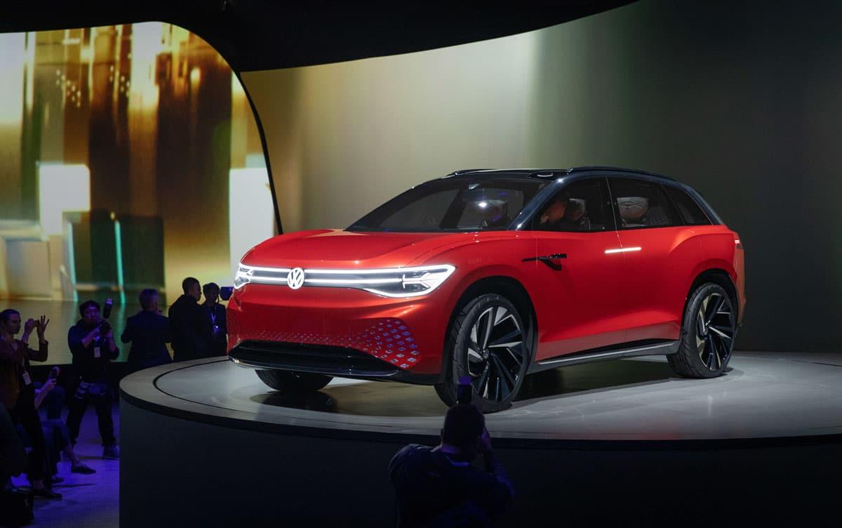 Volkswagen ID Roomz koncept poslužit će kao temelj za električni Touareg